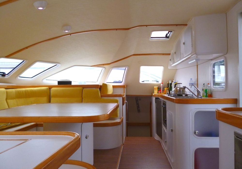 Outremer 55 | Intérieur Outremer 55