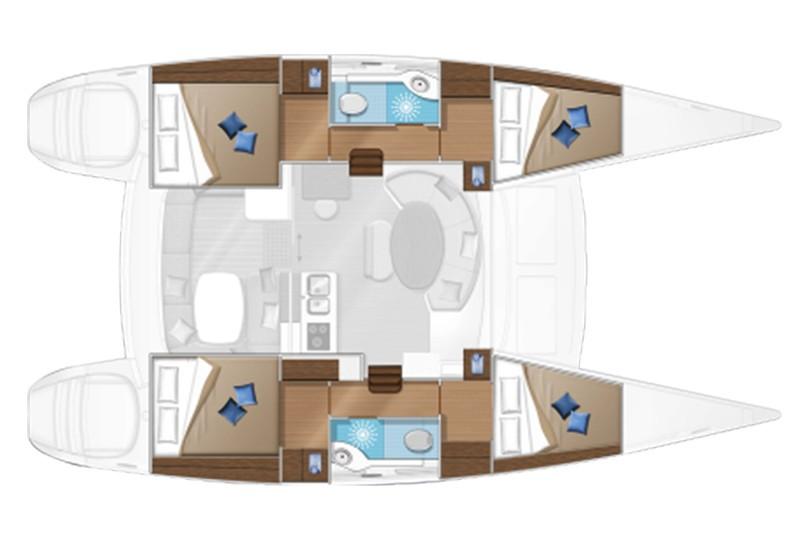 Lagoon 380 plan |