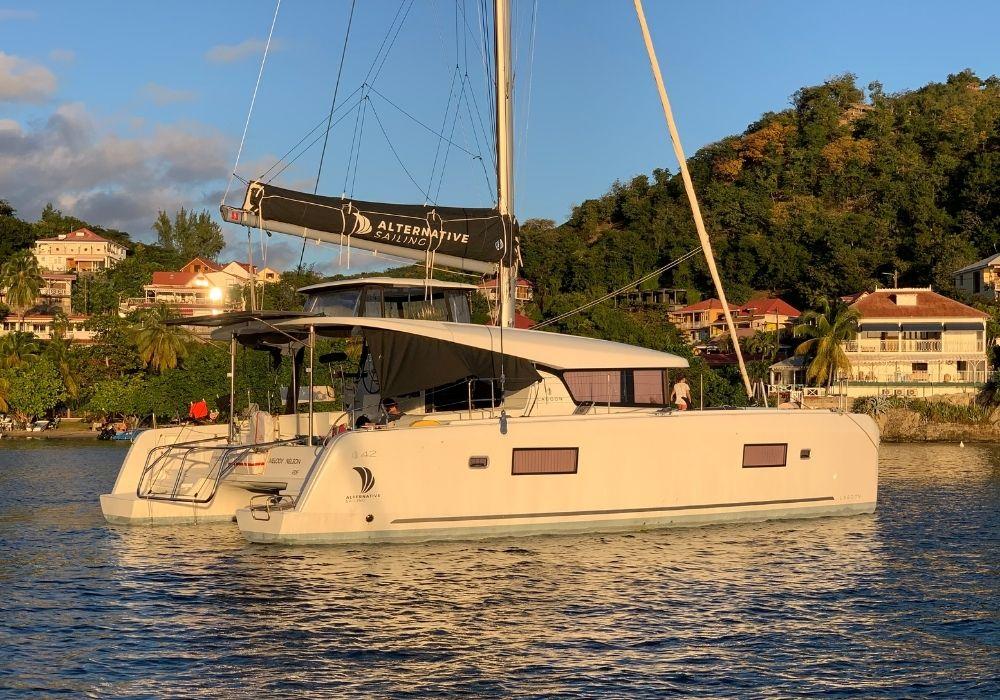 Lagoon 42 | Location Lagoon 42 Alternative Sailing