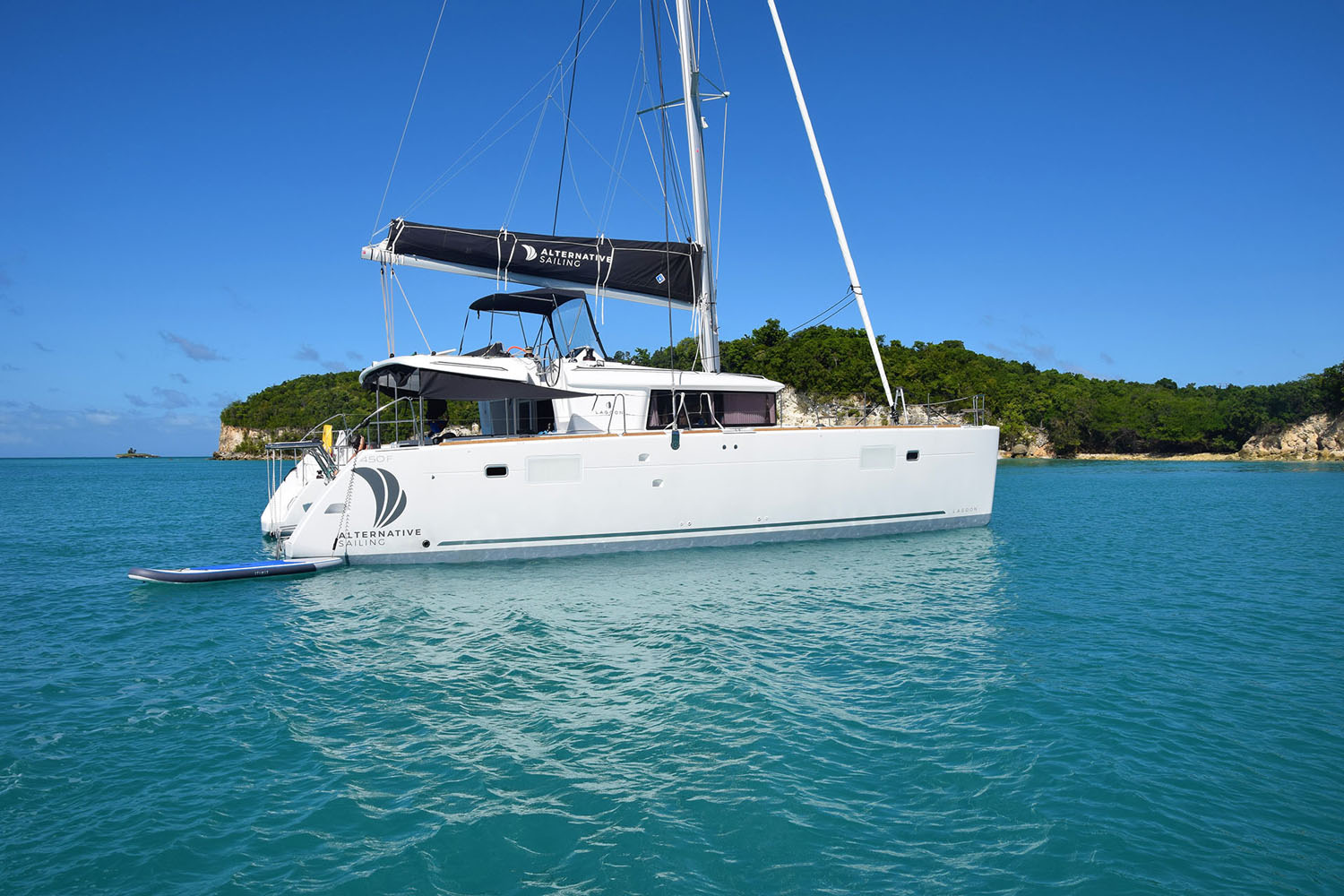 Lagoon 450 F | Location catamaran Lagoon 450F