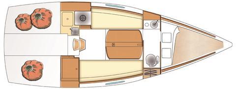 plan intérieur First 25 |
