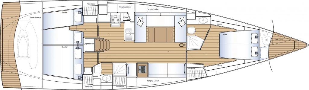 plan intérieur Solaris 50 |